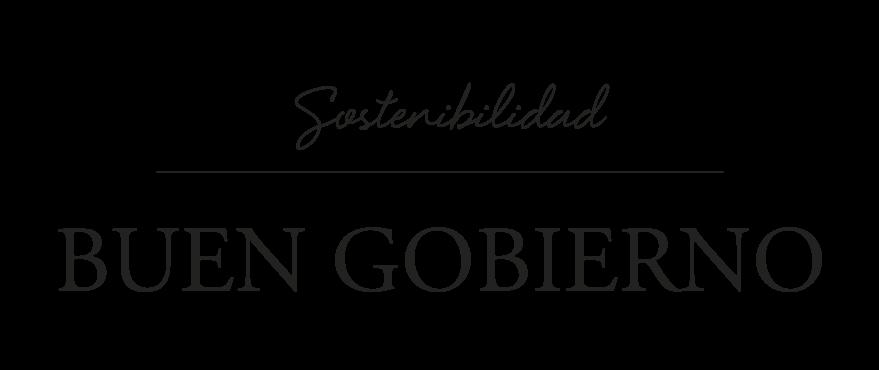 Logo Sostenibilidad: buen gobierno