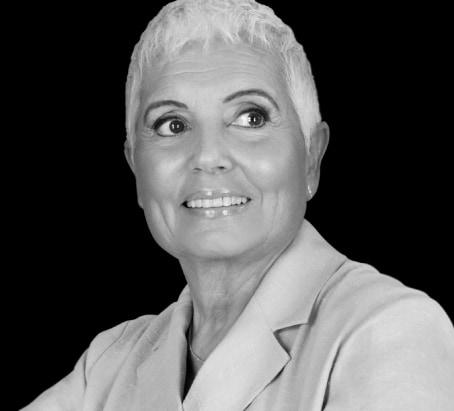 Foto en blanco y negro de Rosa Oriol