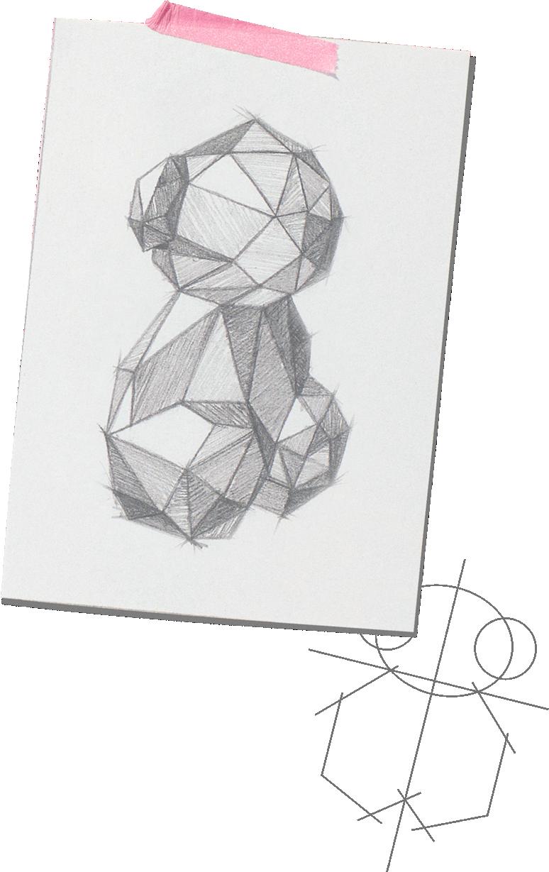 Oso de Tous Sketch
